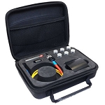 Divot® Bare Fiber Testing Device Deluxe Kit - SC Multimode 62.5